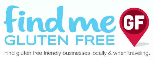 Friday Favorite: Find Me Gluten Free App - This is my favorite resource to use to find safe places to eat while traveling!