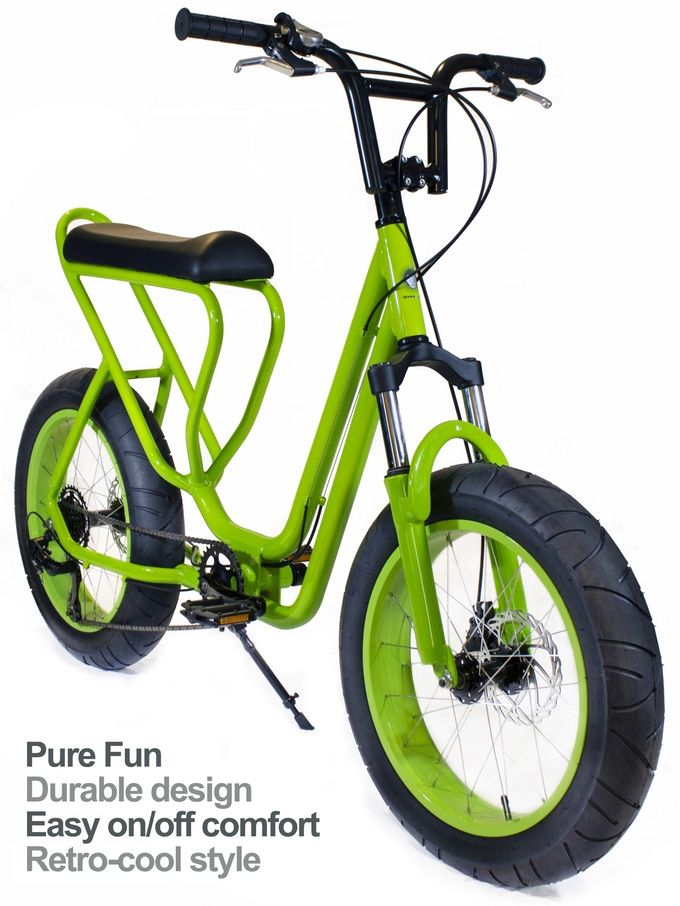 Monkey Faction | An evolutionary cool bicycle by Monkey Faction — Kickstarter