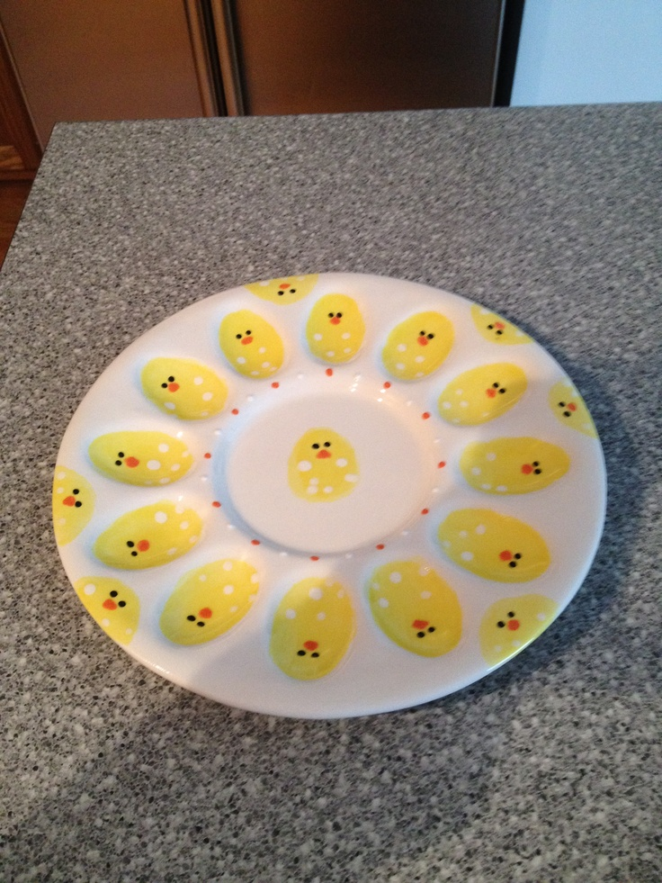 Easter Egg Or Deviled Egg Plate.