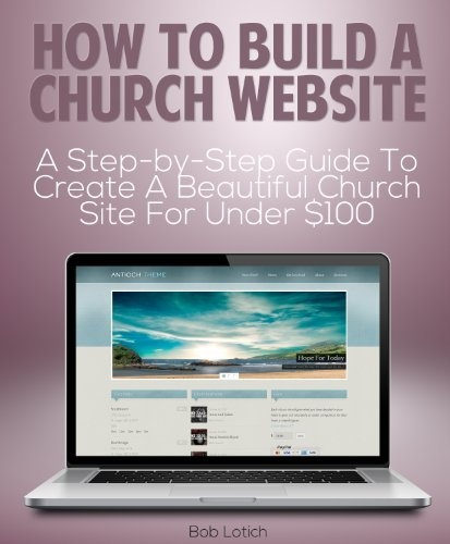 how to build a church website a step by step guide to create - Church Website Design Ideas