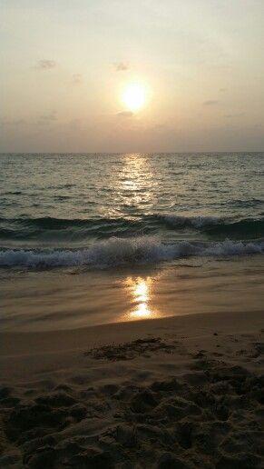 Sunset ocean, Thailand