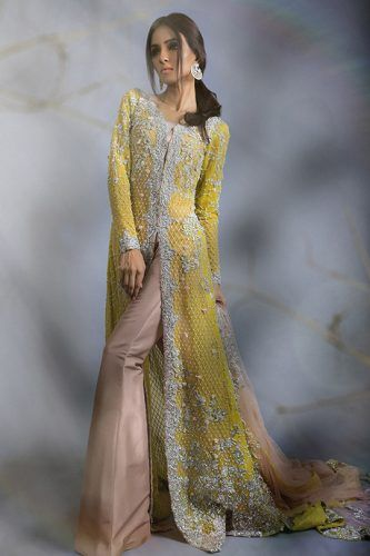 Bridal Diffusion Sana Safinaz Collection- love the design, like the dress better in another colour