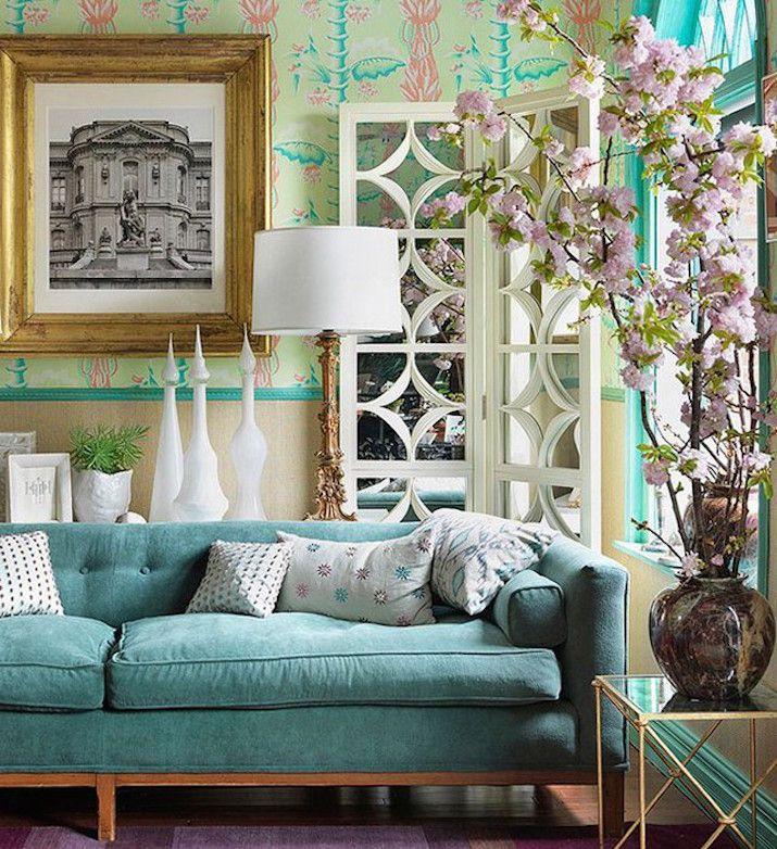 Mejores 55 im genes de sofas preciosos en pinterest - Ultimas tendencias en decoracion de salones ...