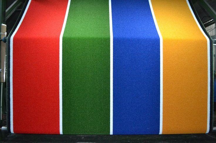 Jardín de infantes alfombra de césped artificial