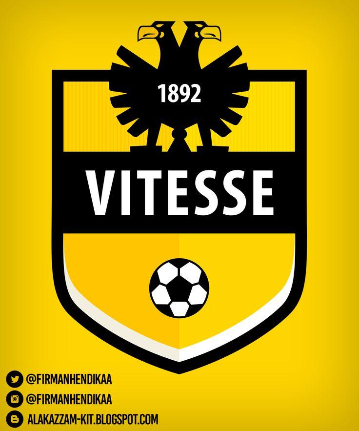 #VITESSE #LOGO #DESIGN #CREST #ALAKAZZAM #FOOTBALL #SOCCER