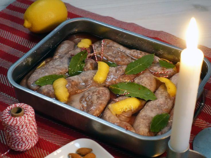 Ernsts vilda julkorv med smak av örter, ingefära och porter | Recept från Köket.se