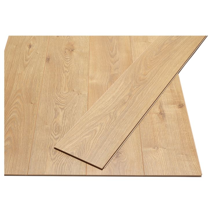 This temporary laminate flooring from Ikea snaps into place, so you can unsnap it and take it with you when you move. Best of all, it looks exactly like hardwood.