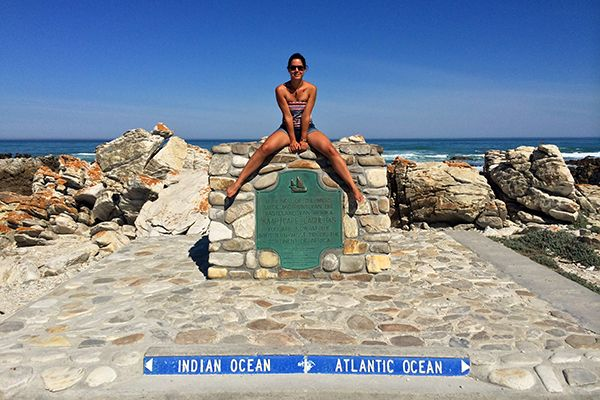Cape Agulhas, two Oceans _ South Africa