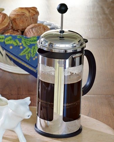 Bodum Chambord 8 cup French Press Coffee Maker No-waste from coffee filters and no power needed, this neat little french press will give provide years of daily brew, just for you.