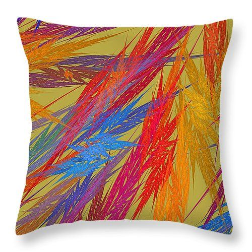 30 best images about Colorful Throw Pillows With Fractal Designs on Pinterest Green, Modern ...