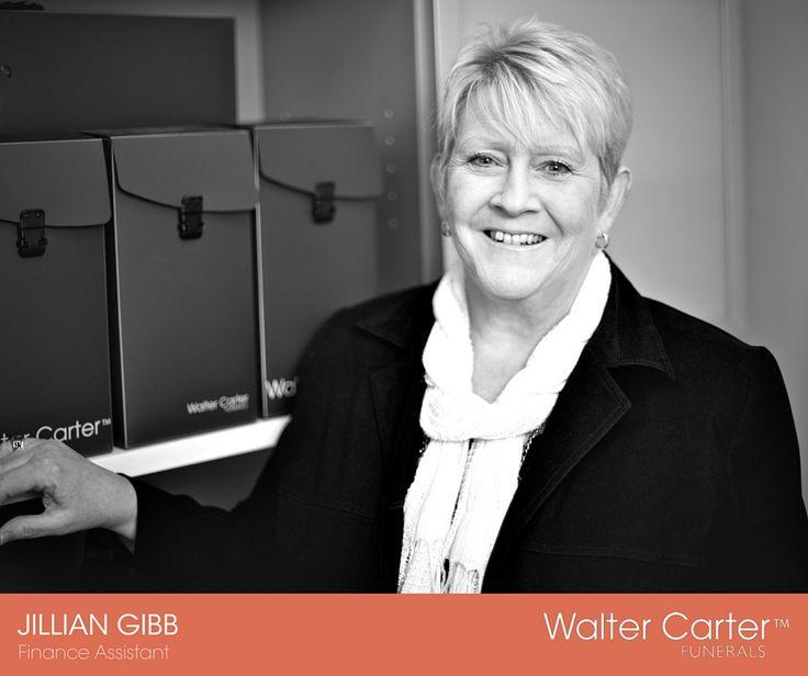 Jillian Gibb is the Finance Assistant at Walter Carter Funerals.