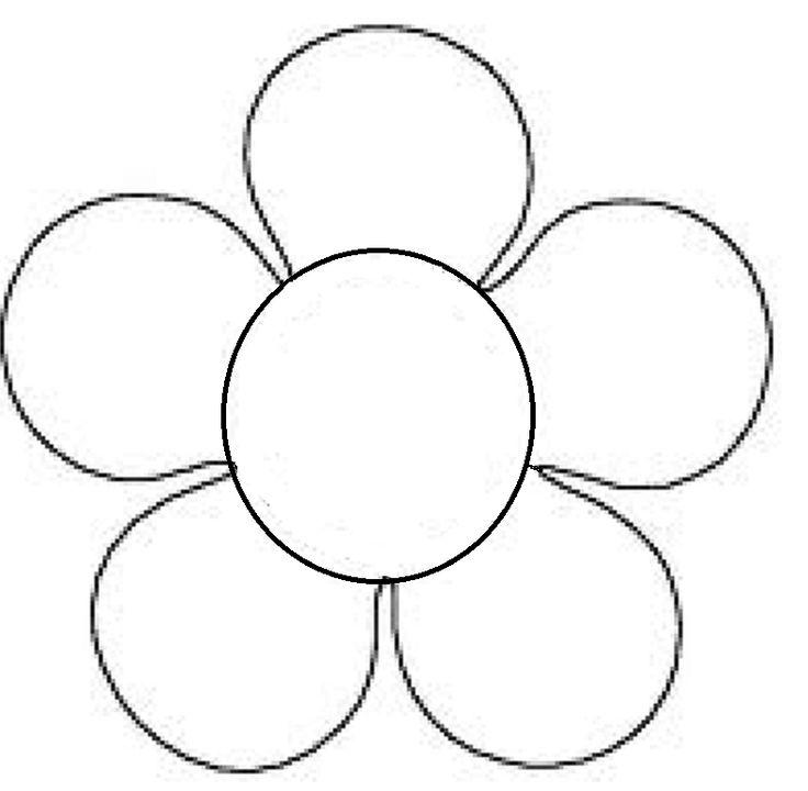 Flor 1: para escribir en ella poesías, adivinanzas, retahílas, frases... sobre la Primavera.