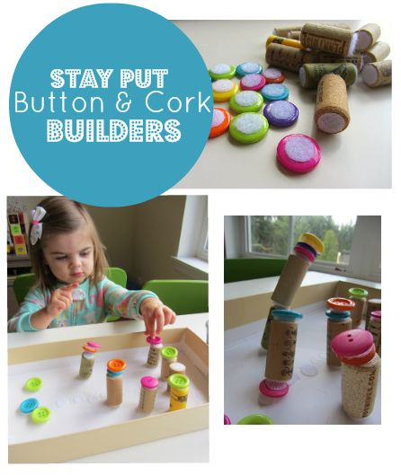 button and cork builders via No Time for Flashcards. brilliant!