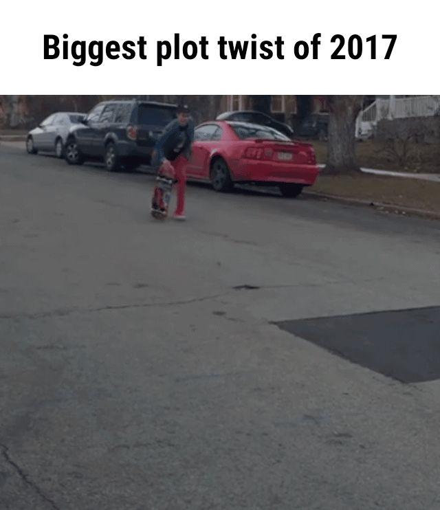 Biggest plot twist of 2017