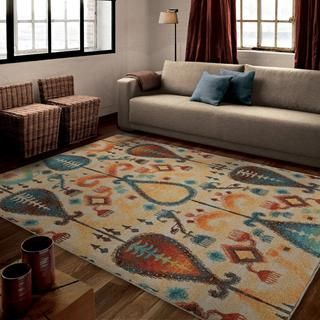 Shop for Carolina Weavers Brighton Collection Lineal Champ Multi Area Rug (7'10 x 10'10). Get free shipping at Overstock.com - Your Online Home Decor Outlet Store! Get 5% in rewards with Club O!