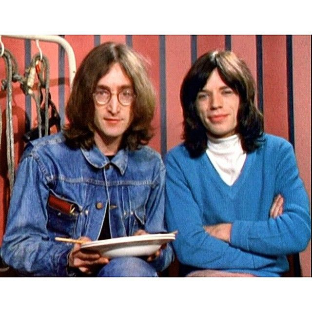 Good morning  #buds #johnlennon #mickjagger