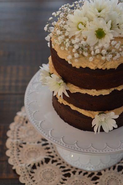 Beautiful Gluten Free Wholefood 3 layered cake