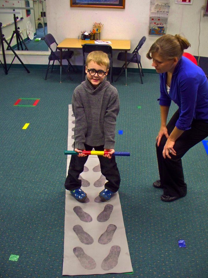 """So what does working with Jonah's retained primitive reflexes have to do with his eyes? Nothing! But it has everything to do with him responding effectively to his vision therapy that requires vision and motor responses. Persistent """"retained"""" primitive reflexes result in reflexive movements that interfere with a child's progress in vision therapy visual-motor activities."""