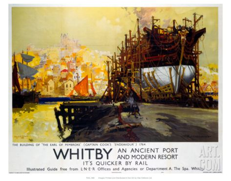 Whitby Art Print at Art.com