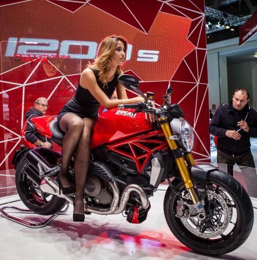 Ducati Monster 1200S - #EICMA