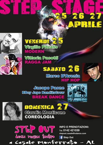STEP STAGE « weekendinpalcoscenico la danza palco e web | IL PORTALE DELLA DANZA ITALIANA | weekendinpalcoscenico.it