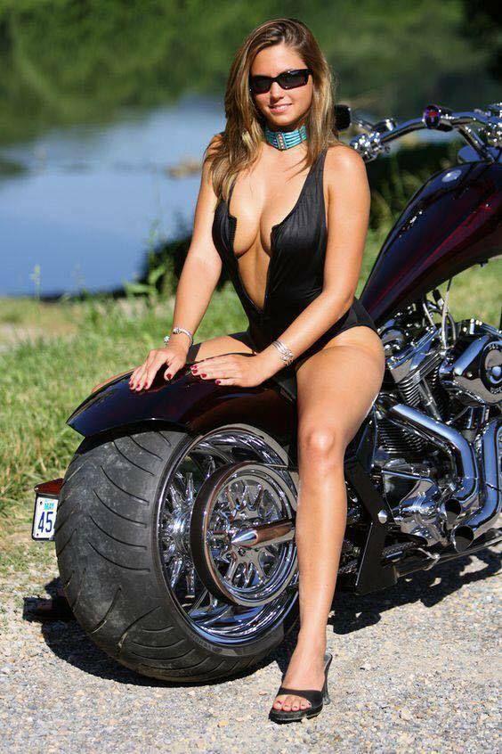 Hot sexy biker girls