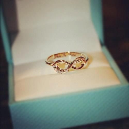 I love this infinity ring. So simple but gorgeous