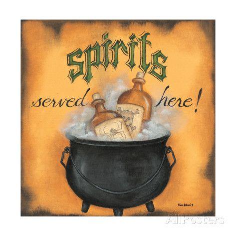 Spirits Served Here Lámina