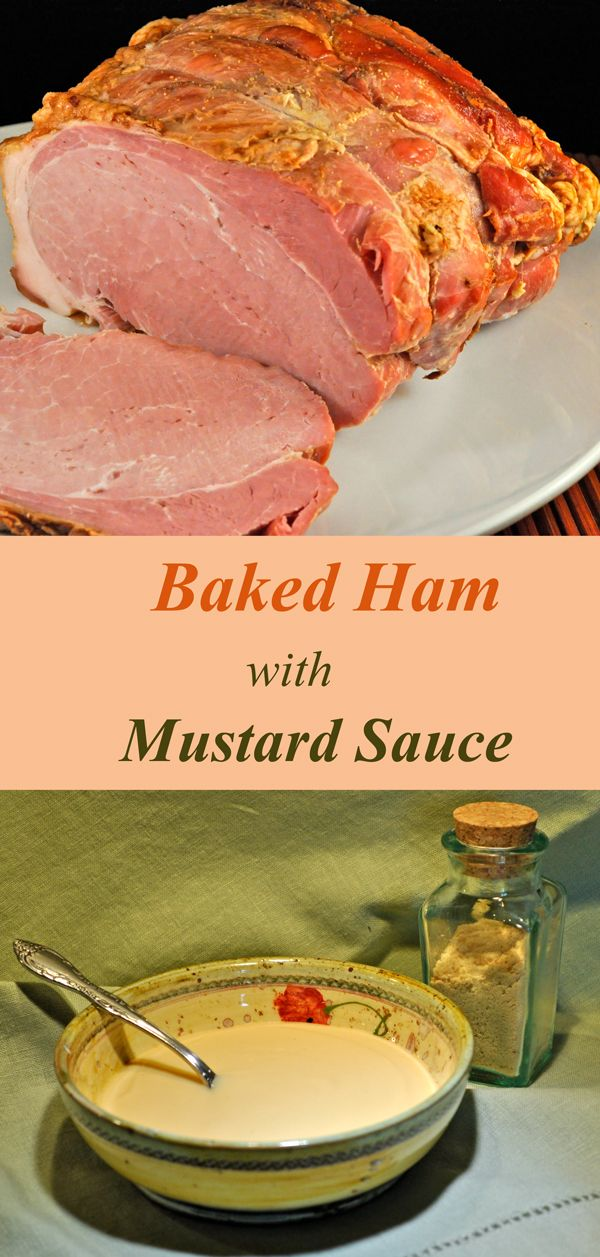 how to make mustard sauce for ham