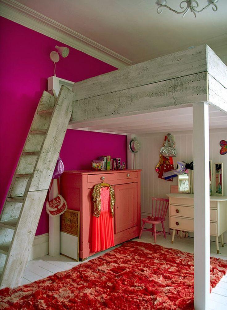 Cool 88 Cute Kids Bedroom Ideas for Girls. More at http://www.88homedecor.com/2017/09/10/88-cute-kids-bedroom-ideas-girls/