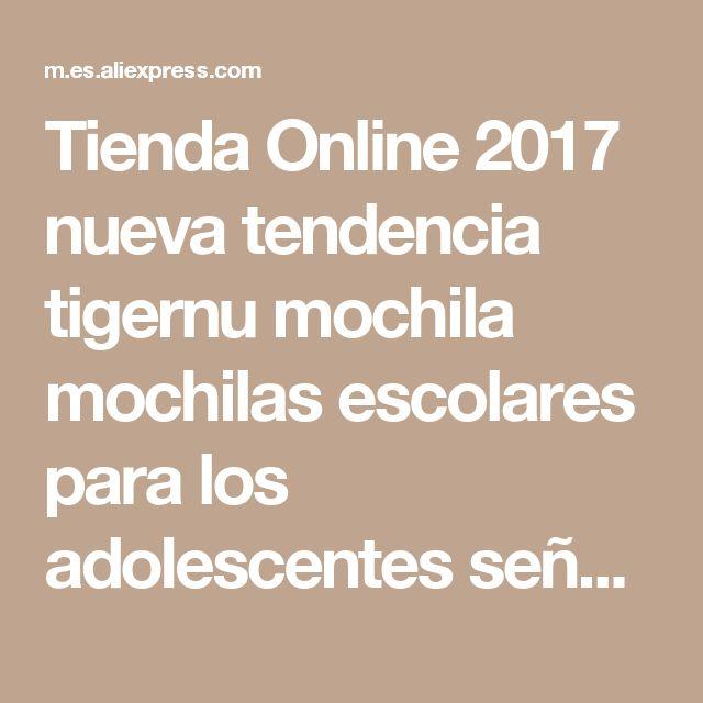 Tienda Online 2017 nueva tendencia tigernu mochila mochilas escolares para los adolescentes señoras bolso mochila femenina mochila bolsas mochila para las mujeres | Aliexpress móvil