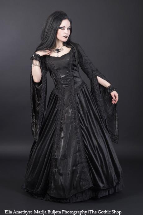 Model: Ella AmethystPhoto: Marija Buljeta PhotographyDress& Cuffs: Sinister - Jewelery: Alchemy Gothicfor The Gothic Shop - www.the-gothic-shop.co.uk Welcome to Gothic and Amazing |www.gothicandamazing.org
