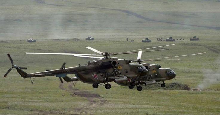 Τζιχαντιστές χτύπησαν ρωσικό ελικόπτερο κοντά στην Παλμύρα-Το πλήρωμα είναι σώο στη ρωσική βάση Jmeimim