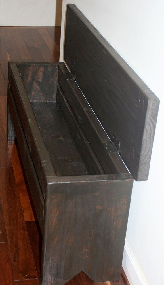 4 Foot Narrow Trunk Storage Bench In 2020 Decorative
