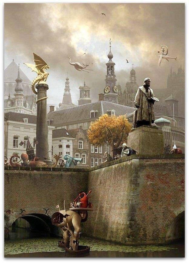 Jeroen Bosch kunstwerk van de stad