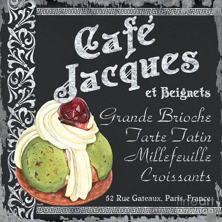 Café Jacques Peinture