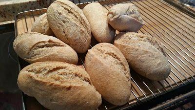 la cocina de Tina: PAN INTEGRAL CON PREFERMENTO
