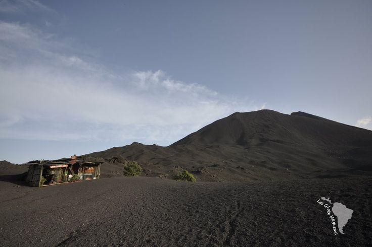 Volcan Pacaya au Guatemala