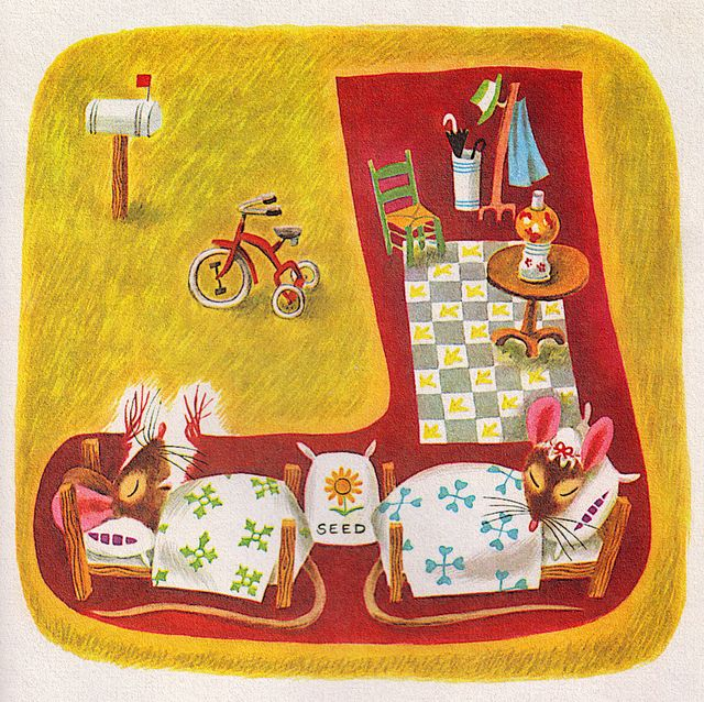 Mouse's House, story by Kathryn and Byron Jackson, illustrated by Richard Scarry (1949)
