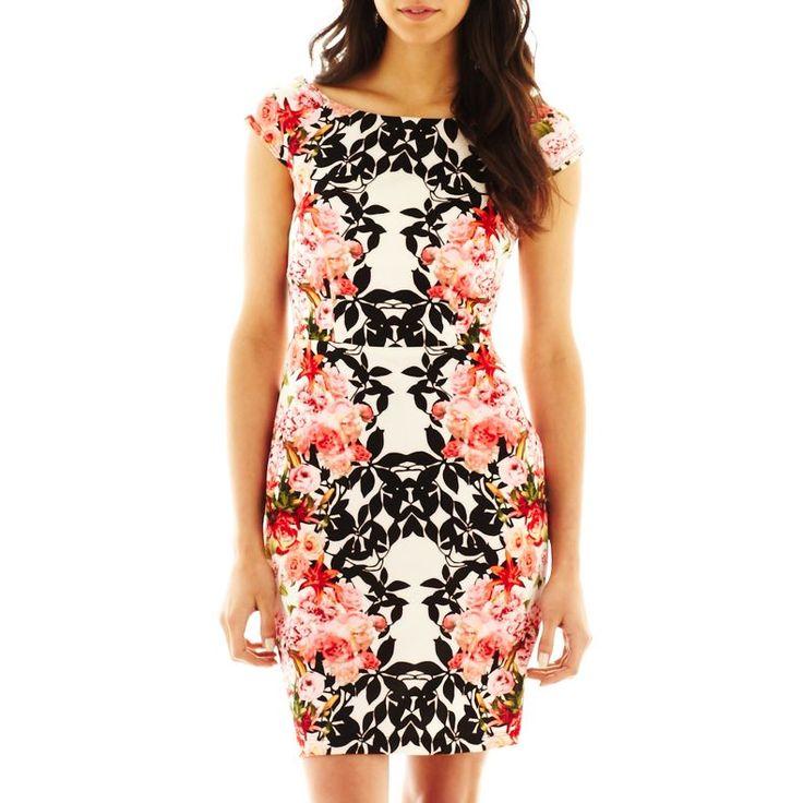 Bisou: Bisou Bisou® Mirror Print Dress