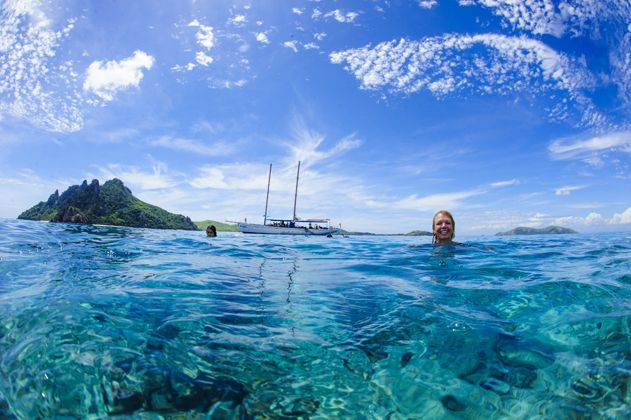 Snorkelling is truly amazing