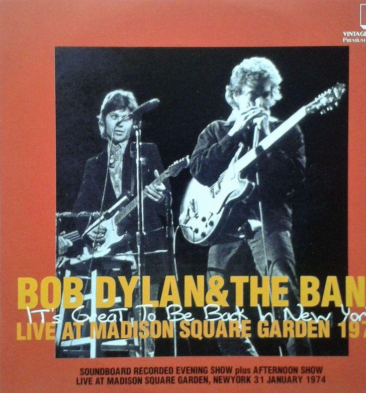 Bob Dylan & The Band - Live at M.S.G. 1974 - Original & Very Rare 2Cd Set