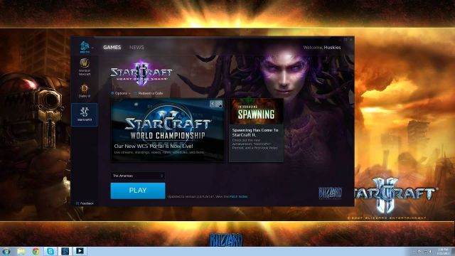 Blizzard continue testing their Battle.Net new launcher for all their games. Watch with audio off or you may have to hurt someone.