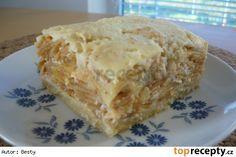 Jablkovo - tvarohový koláč od Hely