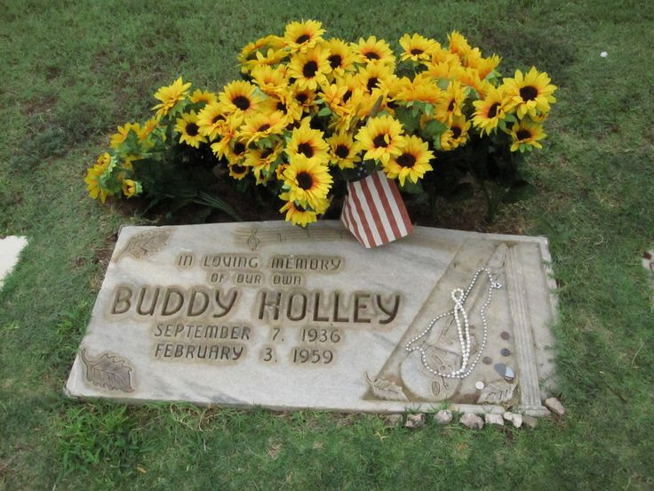 "Buddy Holly - American musician and singer-songwriter and a pioneer of rock and roll. Although his success lasted only a year and a half before his death in an airplane crash, Holly is described by critic Bruce Eder as ""the single most influential creative force in early rock and roll."""