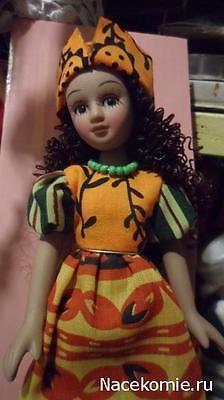 Doll-in-national-costume-Senegal-DeAgostini-porcelain-doll
