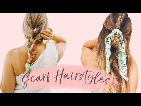 Straightforward To Do Scarf Hairstyles!! – YouTube