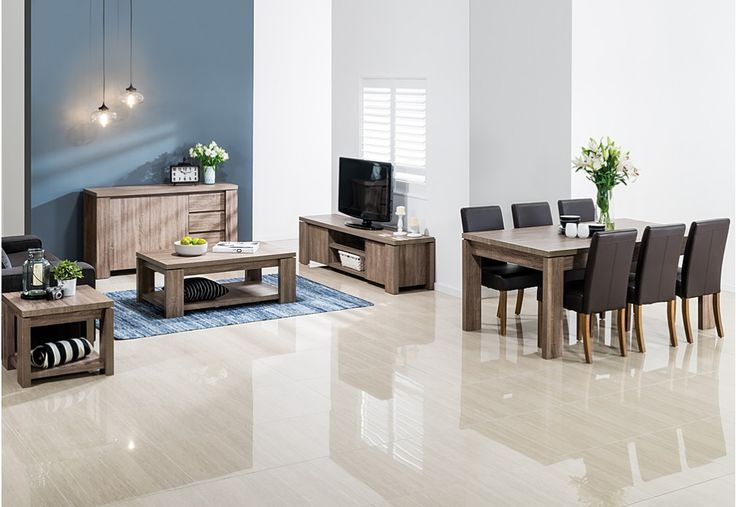 """Furnish your dining room in one quick and stylish choice with the Majesty 11 piece bundle."""