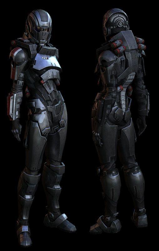 ZBrush Interview: Mass Effect 3 Fem Shepard