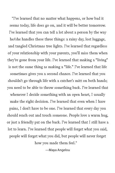 Wow probably the best quote I have ever read. ✌️
